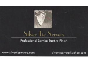 Silver Tie Card